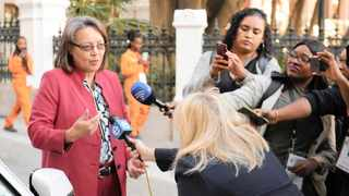 Cape Town mayor Patricia De Lille File picture: African News Agency  Archives