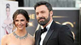 Ben Affleck and Jennifer Garner are still keeping things chummy for the sake of their brood by sharing responsibilities, especially for the first day of school. Picture: AP