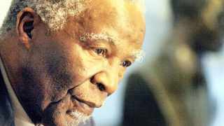 Former president Thabo Mbeki said Africans must collaborate to harness diffused energies. Picture: KEVIN SUTHERLAND/EPA