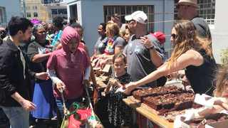 NPO Souper Troopers serve Cape Town's homeless community during one of their social gatherings.  Picture: SOUPER TROOPERS/FACEBOOK