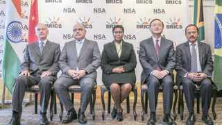 Ministers from Brazil, Russia, India, China and South Africa met at Durban's Maharani Hotel for the 8th BRICS National Security Advisers meeting ahead of the summit next month. Picture: Leon Lestrade. African News Agency/ANA