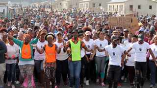 The Zwelihle community will embark on a peaceful four-day protest in Hermanus between 9 July and 12 July 2019 over unethical employment policies and practices of many businesses. Picture: Sisonke Mlamla