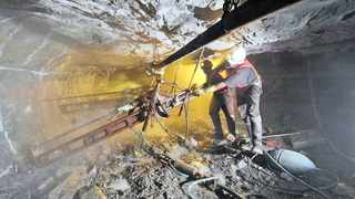 Fifty-eight - that is the number of workers who have died in South African mines to date this year compared with 51 during the same period in 2017. Picture: Simphiwe Mbokazi