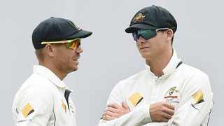 David Warner and Steve Smith Photo will be hoping to catch the eye of the Aussie selectors as they begin their IPL campaign. Photo: EPA