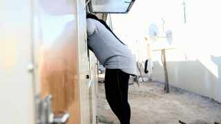 Local sex workers spoke to the Weekend Argus as they spent Women's Day at their homes after a long night of work. The young mothers showed how they are able to balance work and home life. Picture: Ayanda Ndamane/African News Agency (ANA)