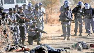 Six years on, the people of Marikana and surrounding areas will converge on the infamous koppie in the mining community outside Rustenburg, where 34 striking miners were shot. Picture: Matthews Baloyi/ANA Pictures