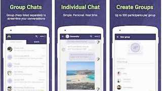 Moya Messenger and content app is now being actively used by over one million people in South Africa every month, with 650,000 people using it every day. PICTURE: biNu