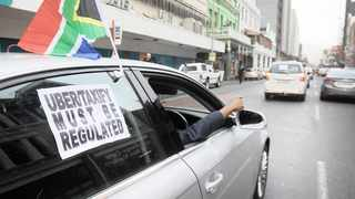 The recently established Ehasa (E-hailing Authority SA), an independent governing body, is seeking to regulate the e-hailing sector in South Africa. Picture: Armand Hough/African News Agency (ANA)