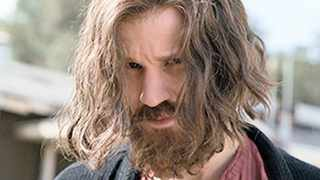 Matt Smith as Charles Manson in the film.