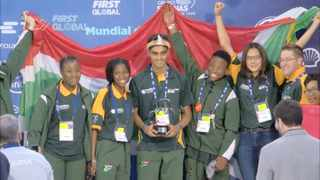 Team South Africa at the Awards Ceremony last week.  Picture: Supplied