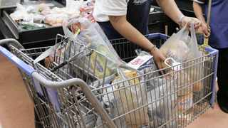 A shopping trolley filled with groceries  Picture: Reuters/African News Agency (ANA)
