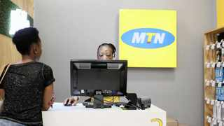 MTN said Ebitda margin expanded by 5.9 percentage points to 47.9 percent in the quarter on the back of an increase in service and data revenue. Photo: Reuters