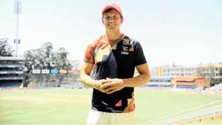 Wihan Lubbe plays cricket for the Lions. Picture : African News Agency(ANA)