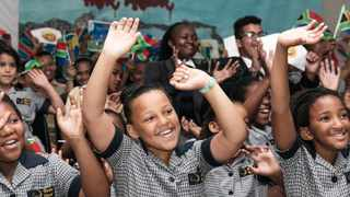 Christel House South Africa became the only school in the country selected to participate in the annual Microsoft 48-hour international Skype-a-thon to connect nearly half a million students, teachers and guest experts from around the world. Photo: Christel House SA