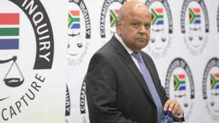Minister Pravin Gordhan at the State Capture Inquiry Picture: Nhlanhla Phillips/African News Agency/ANA