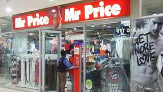 Mr Price's share price slid by more than 16 percent on the JSE after the group reported disappointing third-quarter results. File Photo: IOL