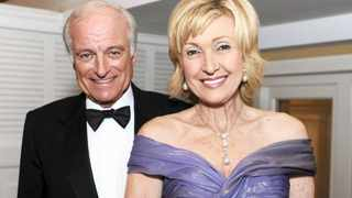 Dr Neville Marks and Lana Marks, who has been appointed US ambassador to South Africa. Picture: AP