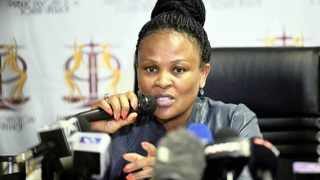"""The leader of ATM said he decided to donate to the Advocate Busisiwe Mkhwebane fund because the Public Protector """"has been personally attacked"""". File picture: Bongani Shilubane/African News Agency (ANA)."""
