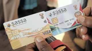 The agency said it was concerned by the case of a man advertising the sale of Sassa cards on Facebook, according to a report by SAnews.gov.za. Photo: Simphiwe Mbokazi African News Agency (ANA)