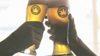 Cannabis-infused products such as this Durban Poison lager have hit the shelves in South Africa