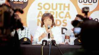 Patricia de Lille, former Cape Town mayor, announced yesterday that her newly-established Good party has finalised its registration as a political party with the Electoral Commission of South Africa.     Nhlanhla Phillips African News Agency (ANA)