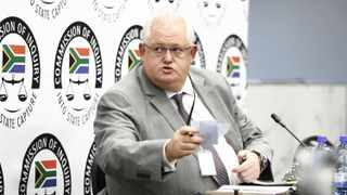 Former Bosasa chief operations officer Angelo Agrizzi at the state capture inquiry. File photo: African News Agency (ANA)