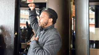BLF has declared victory after the Gauteng High Court did not entirely rule on whether the party should be deregistered and barred from participating in the elections.  Picture: Bongani Shilubane/African News Agency (ANA)