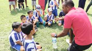 Martin Moonsamy remains a shining light for aspiring footballers of Indian descent. Now retired, he is back home in Lenasia, south of Johannesburg, sharing his knowledge at his academy MM Stars.