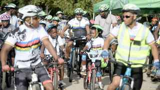 EXECUTIVE mayor Stevens Mokgalapa among hundreds of cyclists who took part in the City of Tshwane'' Kasi Ride to raise awareness about the importance of embracing cycling as an alternative mode of transport.     Thobile Mathonsi African News Agency (ANA)