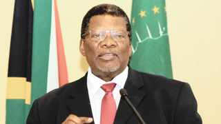Water and Sanitation Minister ­Gugile Nkwinti. Picture: Supplied