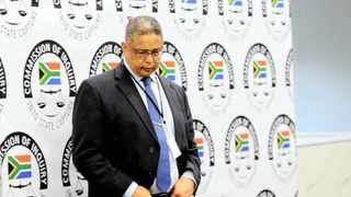 Former Independent Police Investigative Directorate head Robert McBride testifying at the inquiry. Photo: Bhekikhaya Mabaso/African News Agency (ANA).