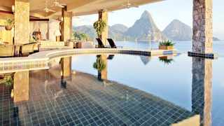 JADE Mountain resort in St Lucia, where open-air rooms eliminate the need for air conditioning. Hotels and resorts have started to be more sustainable by ramping up efforts to reduce or eliminate their resource and energy consumption. The New York Times
