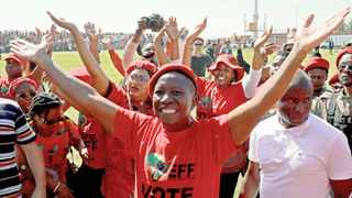 EFF leader Julius Malema. Picture: Kim Ludbrook  EPA  African News Agency (ANA)