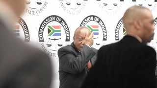 TRANSNET chairperson Popo Molefe after testifying.     Nhlanhla Phillips African News Agency (ANA)