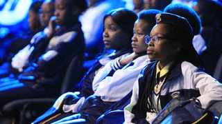 High school pupils during the Morula Study Centre Educational Expo at Time Square, Sun Arena, yesterday.     Jacques Naude African News Agency (ANA)