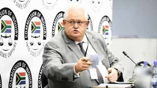 Former Bosasa COO Angelo Agrizzi on the stand at the state capture inquiry in Parktown Johannesburg. Picture: Simphiwe Mbokazi/African News Agency (ANA) Archives