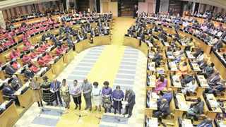 Members of Parliament being sworn in at the National Assembly. An exodus of former ministers has lifted the lid on the lucrative benefits awaiting those who leave office. File photo: Phando Jikelo  African News Agency (ANA)