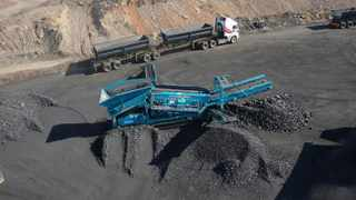KHANYISA coal mine in Witbank, Mpumalanga, is part of the Wescoal group.     Supplied