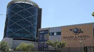 BLUE LABEL telecoms head offices in Sandton, Johannesburg. Its shares were battered on the JSE yesterday, losing almost 10percent.     Simphiwe Mbokazi  African News Agency (ANA)
