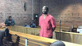 Manusi Mothup in the Pretoria Magistrate's Court.     African News Agency (ANA)