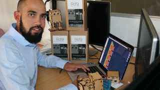 Tyrone van Balla aims to inspire a love of all things tech in children to prepare them for future opportunities. Picture: Supplied