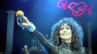 Singer Belinda Davids ensures that Whitney Houston's music lives on in her tribute shows. Picture: DNA PHOTOGRAPHERS