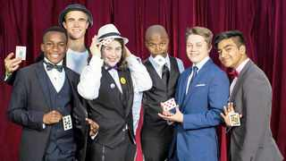 Cape Town's most captivating magical teens are set to go wand-to-wand for top honours and the gold trophy at the 2019 Western Cape Junior Magician Championships at Bergvliet High School. Photo: Andrew Klazinga