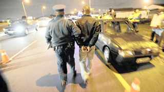 This alcohol reading of 0.73 at a roadblock is almost four times over the legal limit. File Picture: Matthew Jordaan / ANA