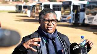 Transport Minister Fikile Mbalula. Picture: Thobile Mathonsi/African News Agency(ANA)