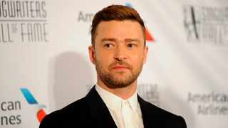 Justin Timberlake walks the red carpet at the 50th annual Songwriters Hall of Fame induction and awards ceremony. Picture: AP