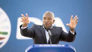 DA leader Mmusi Maimane. Picture: Jerome Delay / AP / African News agency (ANA)