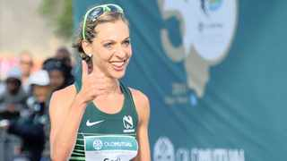Gerda Steyn ran an Olympic qualifying time with a 2:27:48 finish in New York on Sunday. Photo  Ryan Wilkisky/BackpagePix