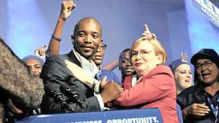 The DA elected Mmusi Maimane as leader in May 2015. He succeeded Helen Zille. File picture: Dumisani Sibeko