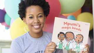 Lebohang Masango with her book. Picture: Supplied